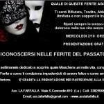 RICONOSCERSI NELLE FERITE DEL PASSATO Presentazione Mercoledi 2/10 ore 21
