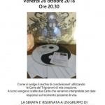 CERCHIO DI LETTURA CON I CHING Venerdi 26/10 ore 20.30