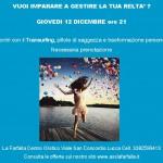Incontri con il Transurfing Giovedi 12/12 ore 21