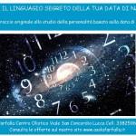Giovedi 16/1 ore 21 inizio Percorso sulla DATA DI NASCITA