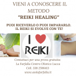 Vieni a provare il REIKI HEALING