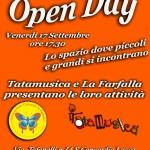 OPEN DAY Venerdi 17 Settembre ore 17.30